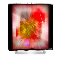 Abstract 530-2016 Shower Curtain by John Krakora