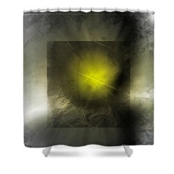 Abstract 533-2016 Shower Curtain