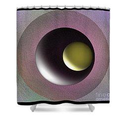 Abstract 702-2015 Shower Curtain by John Krakora