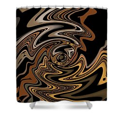 Abstract 9-11-09 Shower Curtain by David Lane