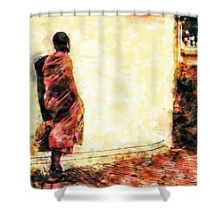 Abstract And Bold Shower Curtain