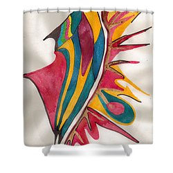 Abstract Art 102 Shower Curtain