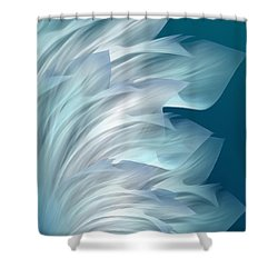 Abstract Art - Everlasting Grace By Rgiada Shower Curtain by Giada Rossi