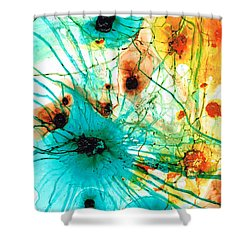 Abstract Art   Possibilities   Sharon Cummings Shower Curtain