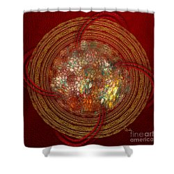 Abstract Art - The Talisman By Rgiada Shower Curtain by Giada Rossi