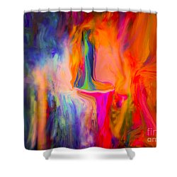 Abstract Art  Waiting Shower Curtain