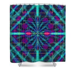 Fallen Petals Shower Curtain
