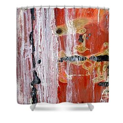 Abstract By Edward M. Fielding - Shower Curtain