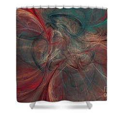 Abstract Chaotica 10 Shower Curtain