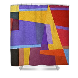 Abstract Composition 7 Shower Curtain