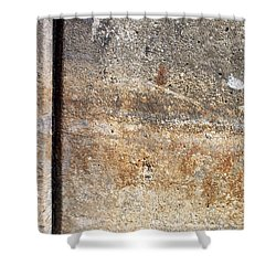 Abstract Concrete 17 Shower Curtain