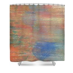 Abstract Confetti 3 Shower Curtain