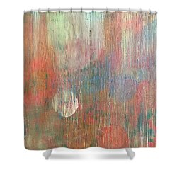 Abstract Confetti Shower Curtain