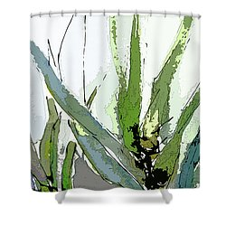 Abstract Cool Color Sonata 1 Shower Curtain