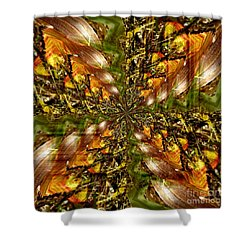 Abstract Cornfield 1 Shower Curtain