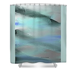 Abstract - Duct Tape Shower Curtain