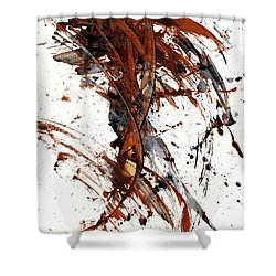 Abstract Expressionism Series 51.072110 Shower Curtain
