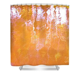 Abstract Extensions Shower Curtain