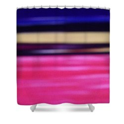 Shower Curtain featuring the digital art Abstract Field 2 by Don Koester