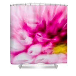 Abstract Floral No. 1 Shower Curtain