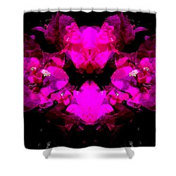 Abstract Floral No.2 Shower Curtain
