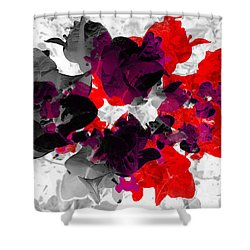 Abstract Floral No.3 Shower Curtain
