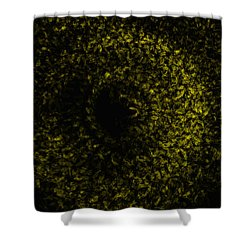 Abstract Floral Swirl No.1 Shower Curtain