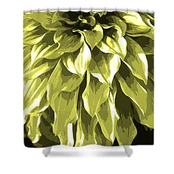 Abstract Flower 5 Shower Curtain