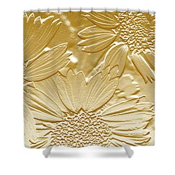 Abstract Flowers 4 Shower Curtain