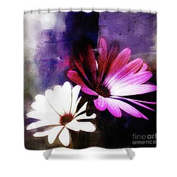 Abstract Flowers 432 Shower Curtain