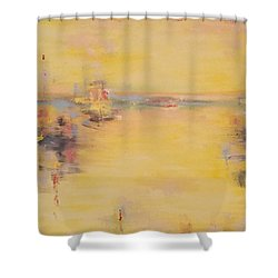 Abstract For Harold Shower Curtain