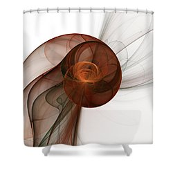 Abstract Fractal Art Shower Curtain