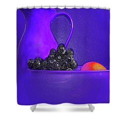 Abstract Fruit Art 53 Shower Curtain