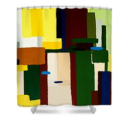 Abstract Fun Shower Curtain