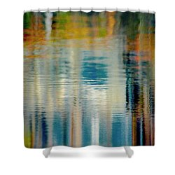 Abstract  Shower Curtain by Gillis Cone