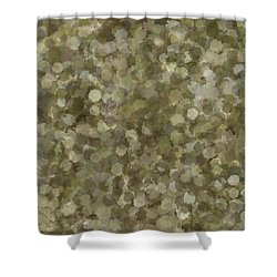 Shower Curtain featuring the photograph Abstract Gold And Cream 2 by Clare Bambers