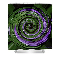 Abstract I Shower Curtain by DigiArt Diaries by Vicky B Fuller