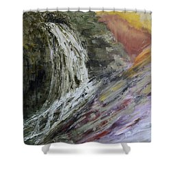 Abstract II Shower Curtain