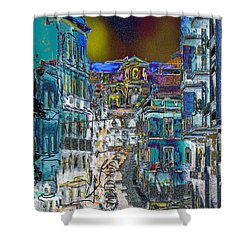 Abstract  Images Of Urban Landscape Series #11 Shower Curtain