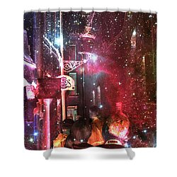 Abstract  Images Of Urban Landscape Series #12 Shower Curtain