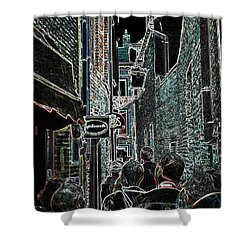 Abstract  Images Of Urban Landscape Series #12b Shower Curtain