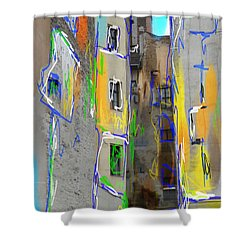 Abstract  Images Of Urban Landscape Series #13 Shower Curtain