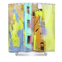 Abstract  Images Of Urban Landscape Series #2 Shower Curtain
