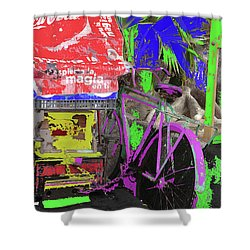 Abstract  Images Of Urban Landscape Series #3 Shower Curtain