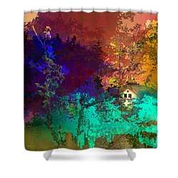 Abstract  Images Of Urban Landscape Series #4 Shower Curtain