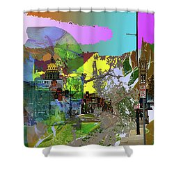 Abstract  Images Of Urban Landscape Series #5 Shower Curtain
