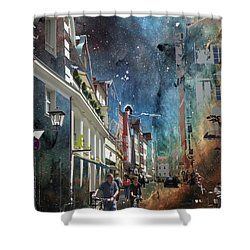 Abstract  Images Of Urban Landscape Series #6 Shower Curtain