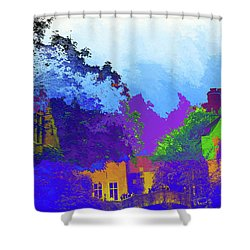Abstract  Images Of Urban Landscape Series #8 Shower Curtain