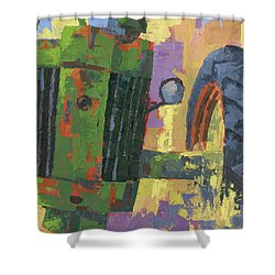 Abstract Johnny Shower Curtain
