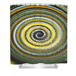 Swirl Abstract 1 Shower Curtain